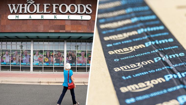 Whole Foods, Amazon Prime