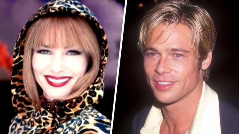 Shania Twain and Brad Pitt