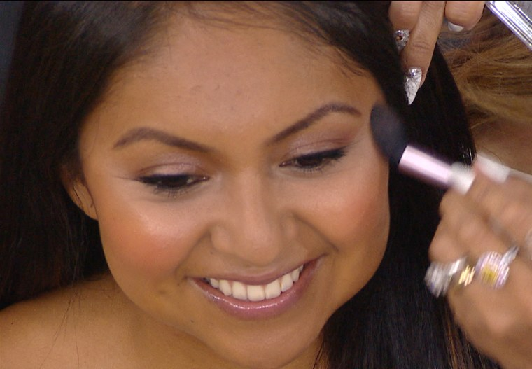 Make up artist Mally Roncal on TODAY, August 25th.