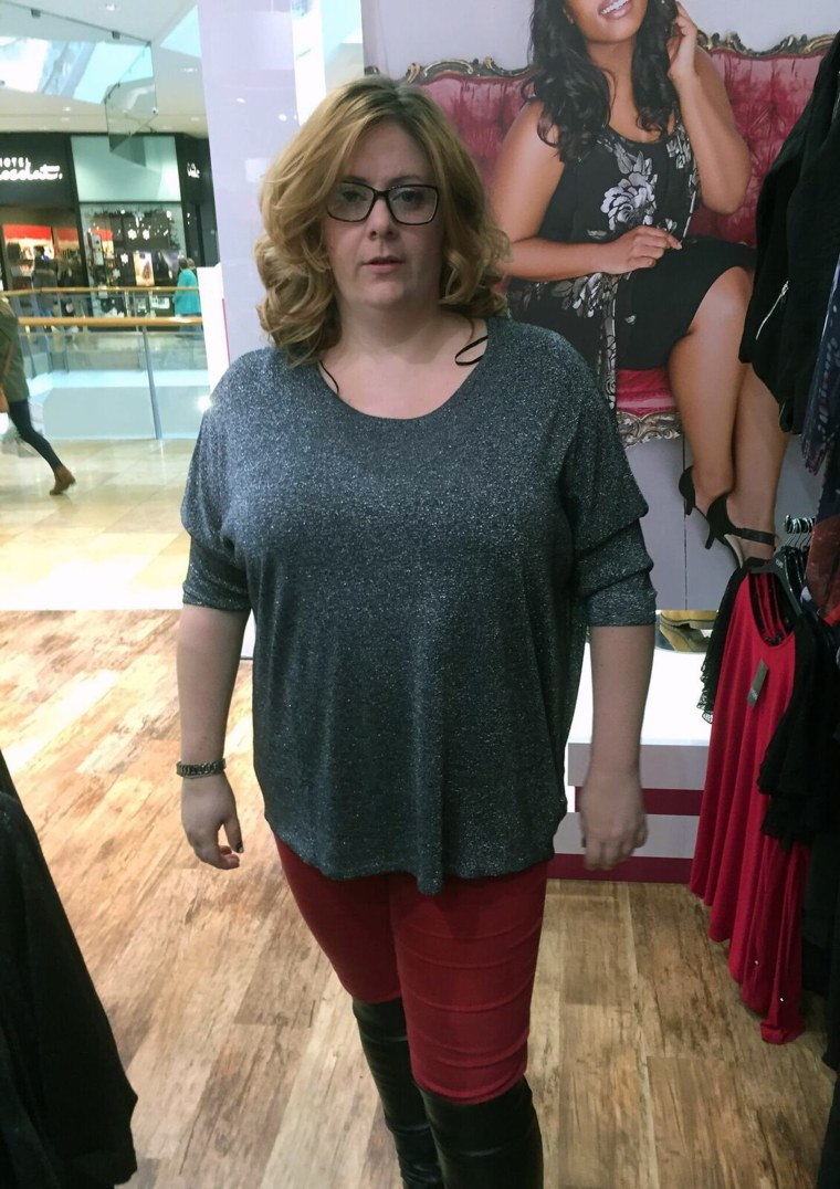 """Natalie Moxey took loads of """"before"""" pictures and when she felt frustrated during her weight loss, she'd look at them for inspiration."""