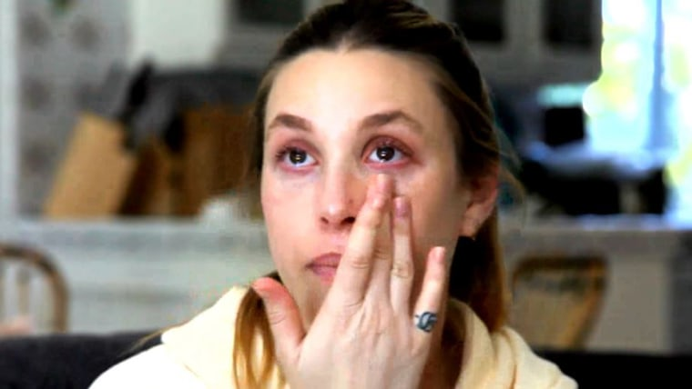 Whitney Port gets emotional in a new video posted to her YouTube channel detailing her difficult breastfeeding experience.
