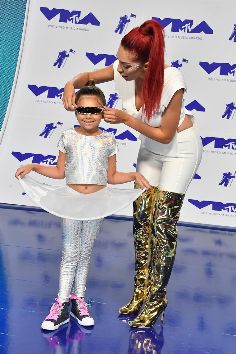 Farrah Abraham MTV Video Music Awards red carpet