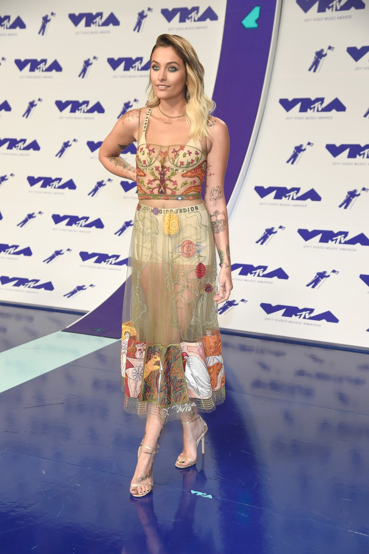 Paris Jackson MTV Video Music Awards - Red Carpet