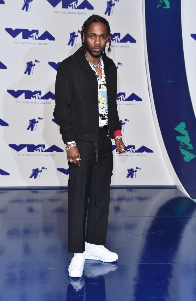 Kendrick Lamar MTV Video Music Awards red carpet