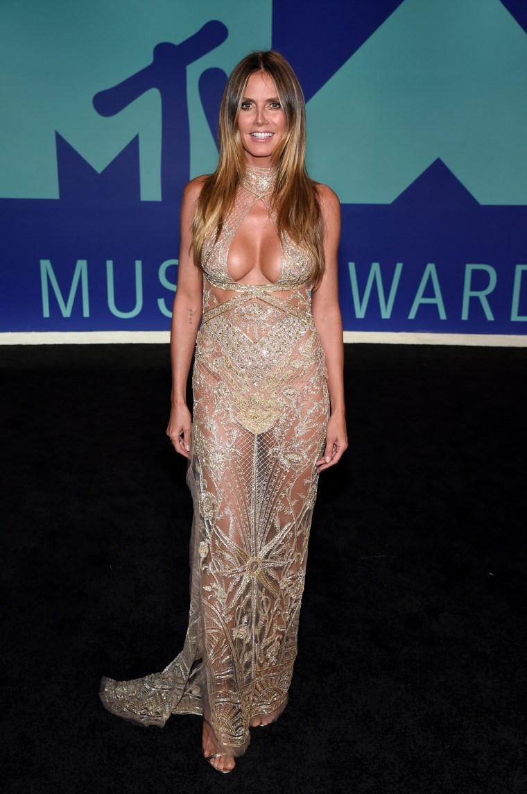 Heidi Klum MTV Video Music Awards - Red Carpet
