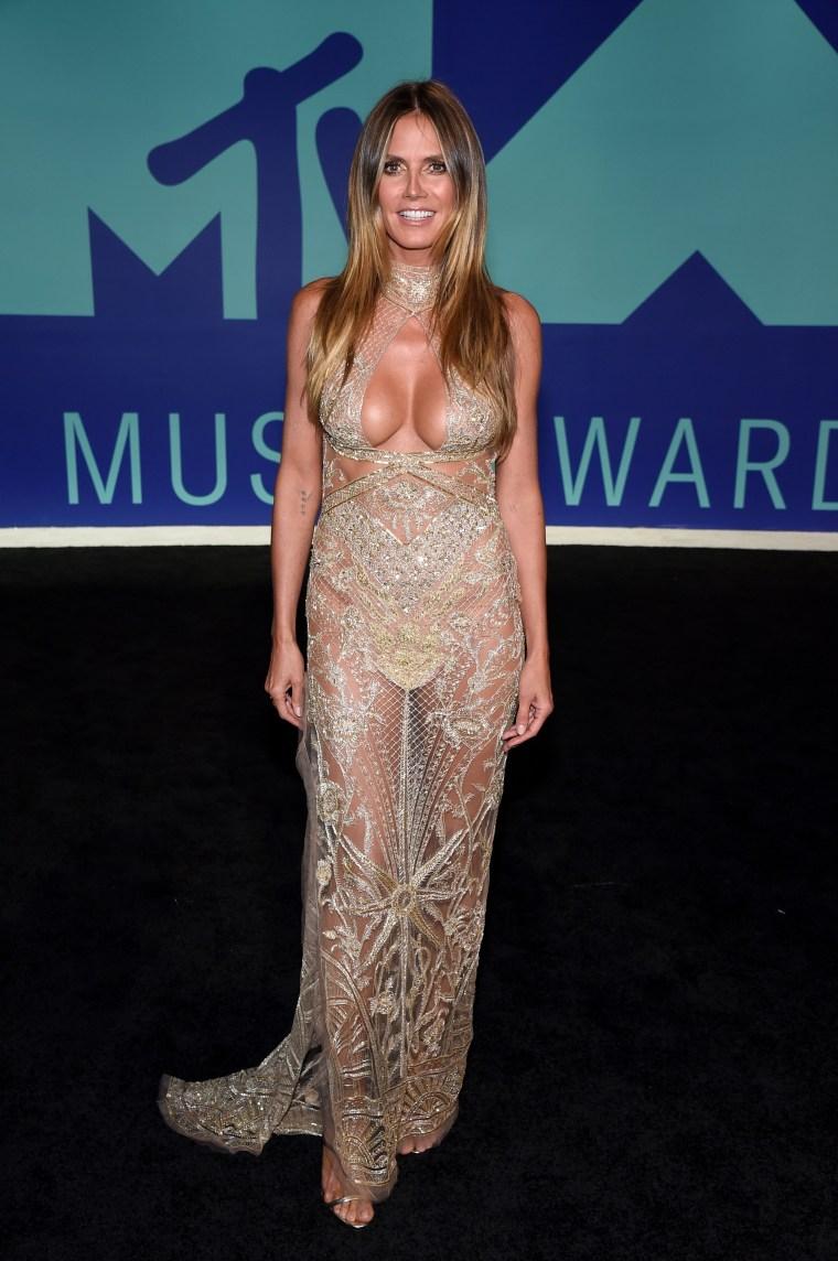 Heidi Klum MTV Video Music Awards - Red Carpet