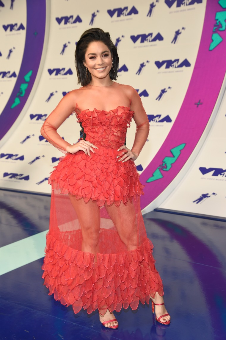 Vanessa Hudgens MTV Video Music Awards - Red Carpet
