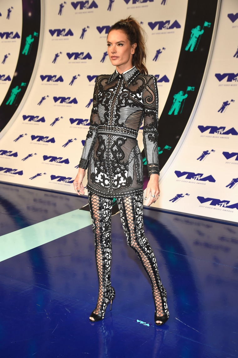Alessandra Ambrosio MTV Video Music Awards - Red Carpet