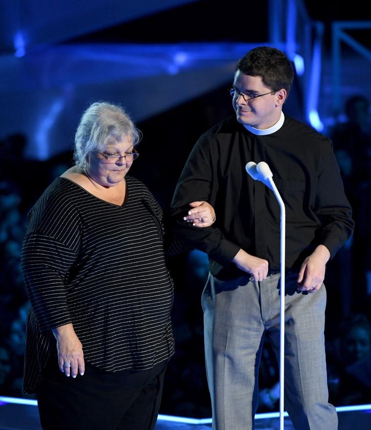 Pastor Robert Lee & Susan Bro MTV Video Music Awards