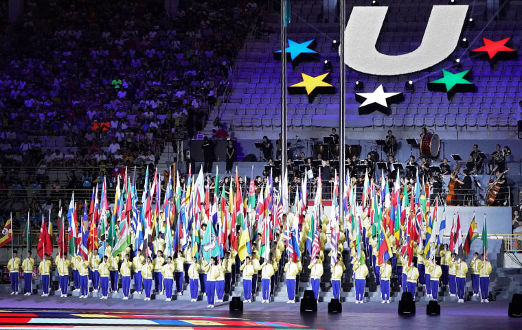 Image: 29th Summer Universiade of Taipei 2017