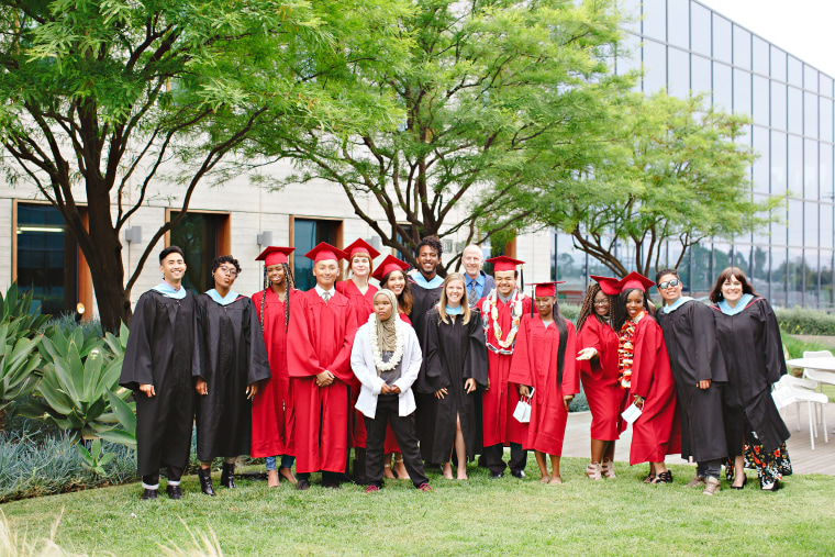 Belkin founder Chet Pipkin attends Da Vinci Schools RISE graduation.