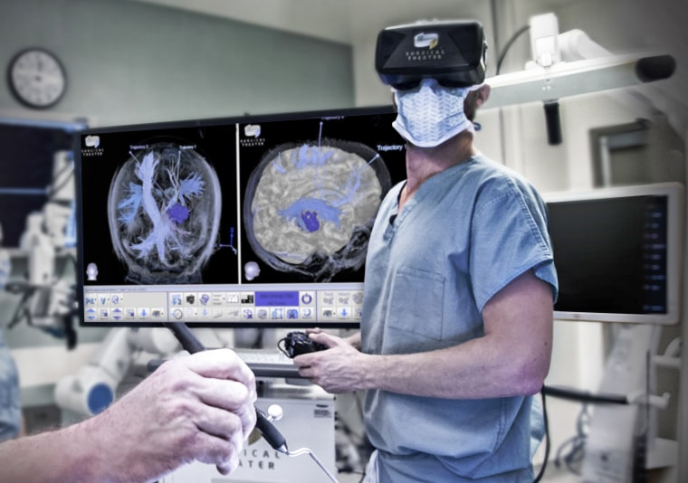 800894e66329 Surgeons can now don VR headsets to virtually fly through their patient s  brain or body.Surgical Theater