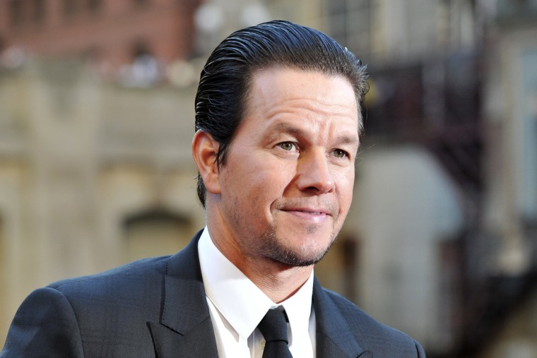 "Image: Mark Wahlberg attends the U.S. premiere of ""Transformers: The Last Knight"""