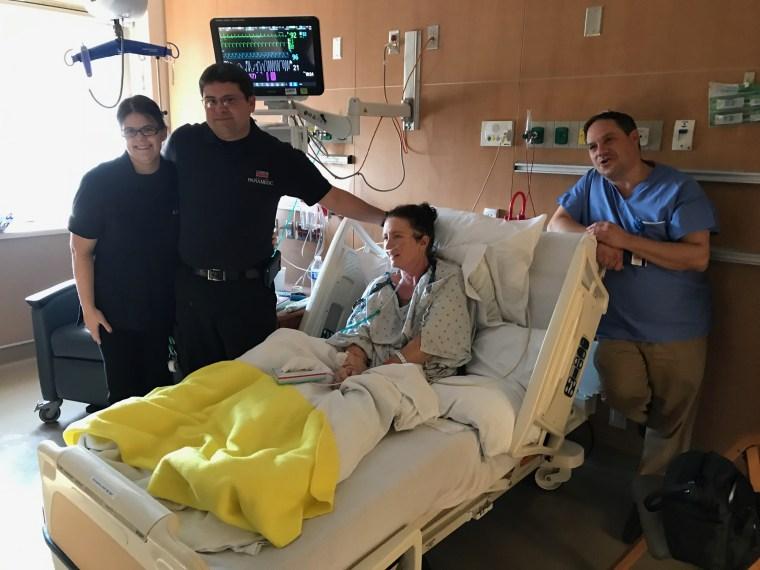 Lynn Howard at Mercy Hospital