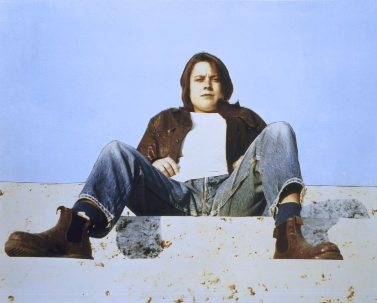 """Divine"" (1991) by Sarah Lucas"