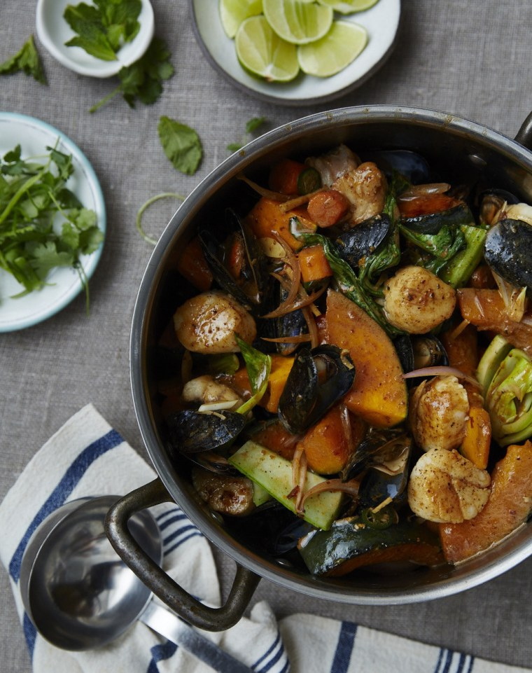 Seamus Mullen's Coconut Seafood Curry