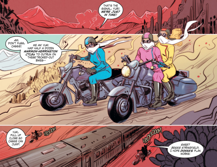 """The first story arc planned to be covered in DC Comic's """"Bombshells United"""" concerns Japanese-American incarceration."""