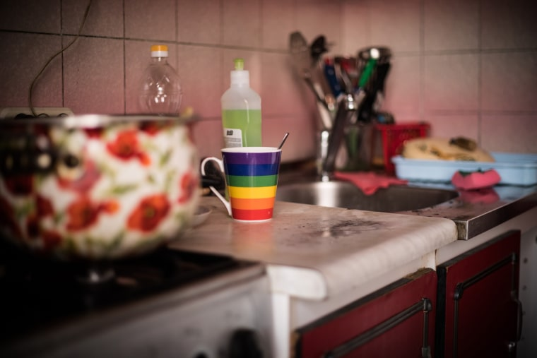 Image: The kitchen of The Shelter in Kiev