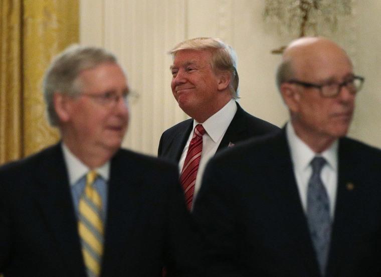 Image: President Trump Invites All GOP Senators To White House