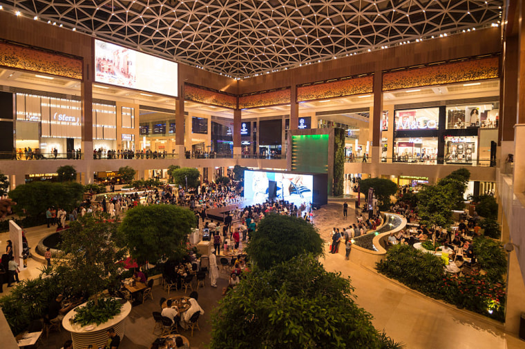 File Photo: A general view of Yas Mall in Abu Dhabi, United Arab Emirates, in October 2015.
