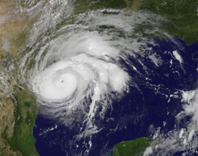 Image: Hurricane Harvey seen from NOAA's GOES East satellite