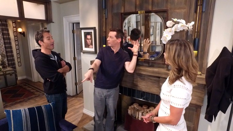 Sean Hayes revealed a secret about Jack's favorite mirror.