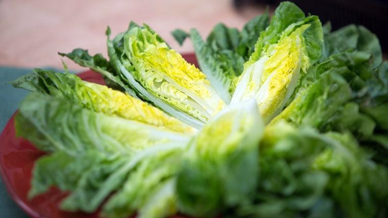 JOSE ANDRES SALAD: Jose Andres' Little Gem Salad with Warm Garlic Dressing