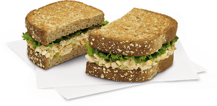 picture relating to Chick Fil a Printable Menu named Chick-fil-A shedding hen salad sandwich versus menu
