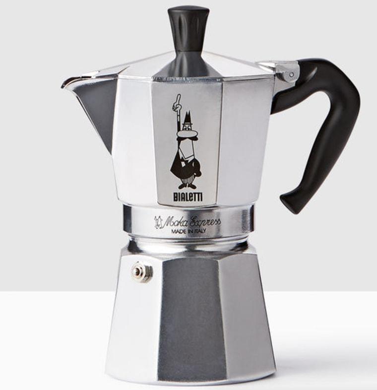 Starbucks Moka Express Espresso Maker - Silver