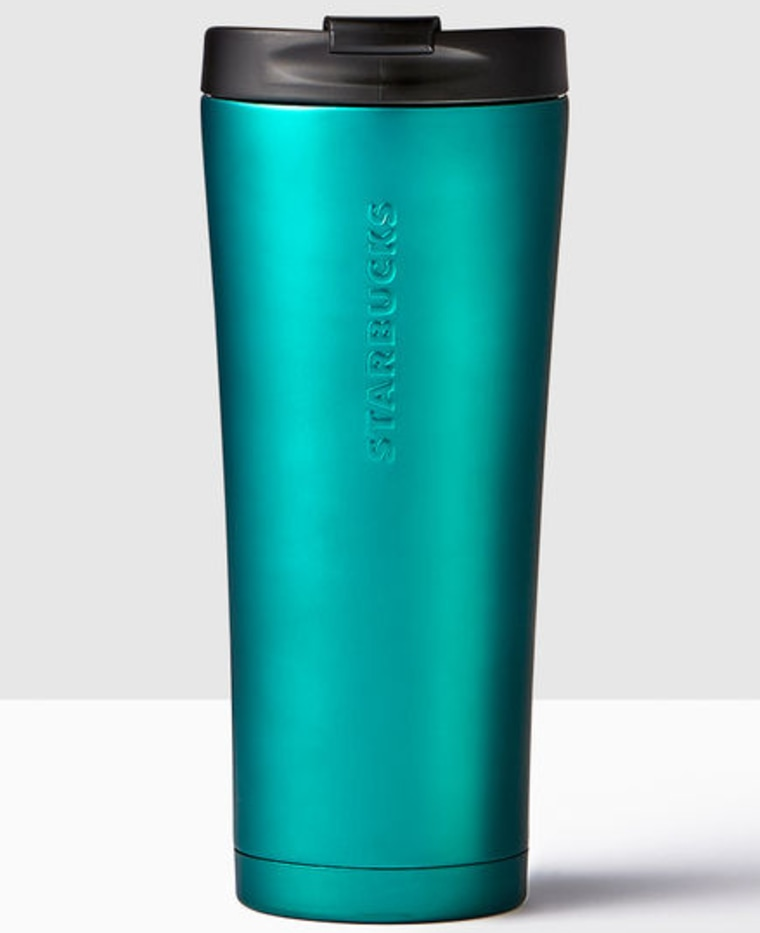 Starbucks Turquoise Stainless Steel Tumbler
