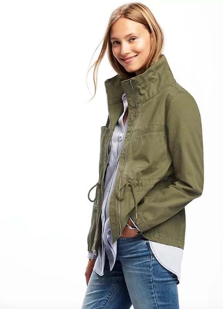 Old Navy Women's Twill Field Jacket for Women