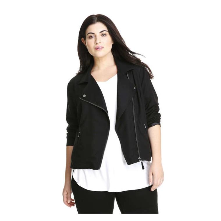 Joe Fresh Women+ Moto Jacket