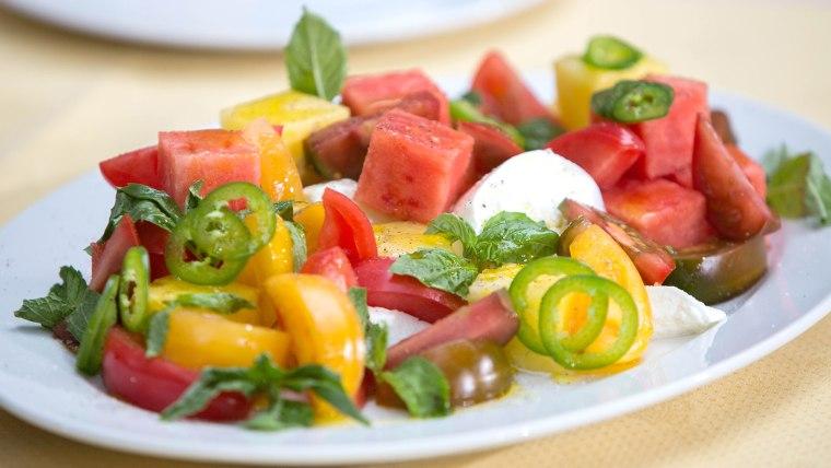 Ed Brown's Heirloom Tomato Salad