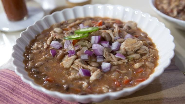 Martha Stewart's Tex Mex Chicken and Beans