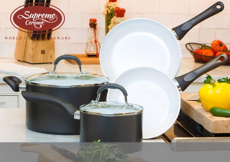 Supreme Ceramic Cookware