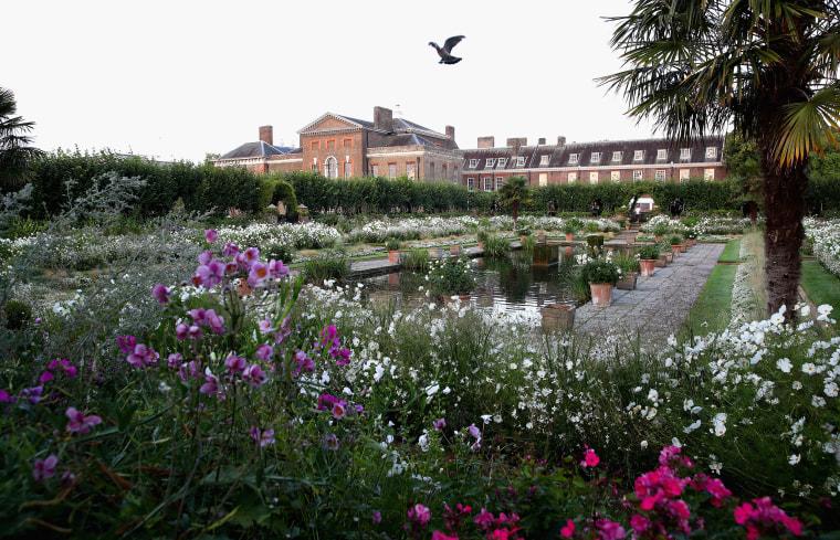 Diana Memorial Garden At Kensington Palace