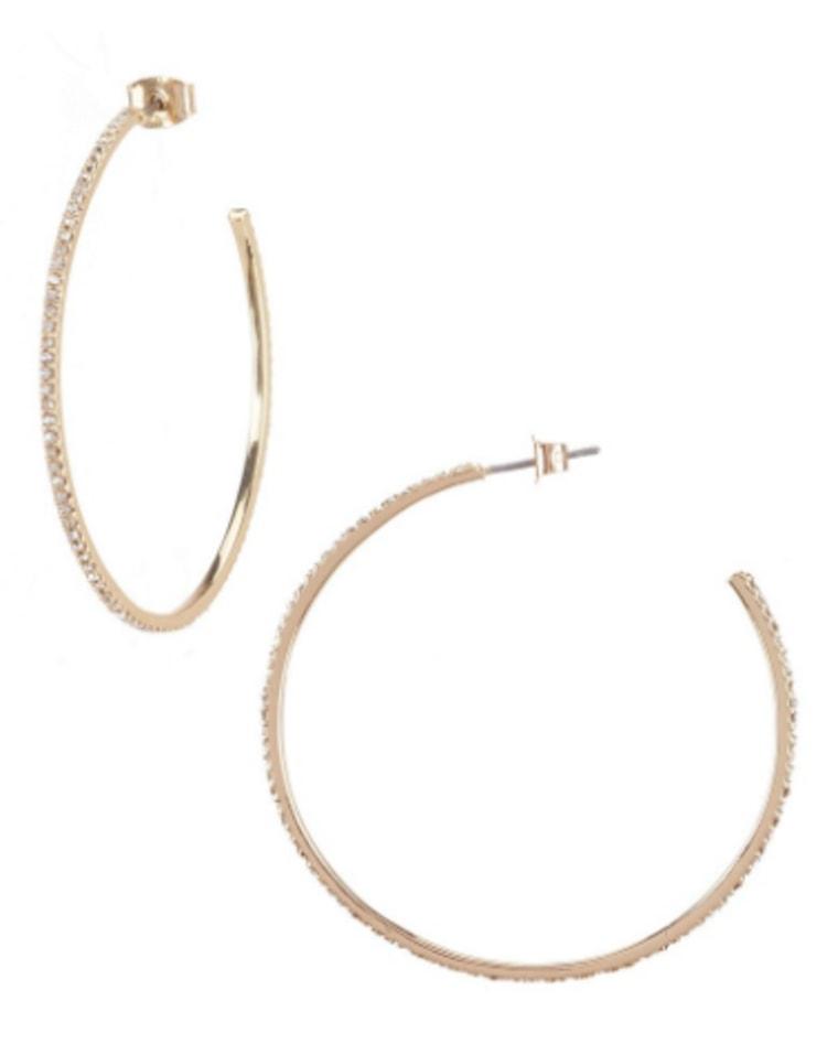 dillard's, hoop earrings, earrings, shopping, celeb style, style, fashion