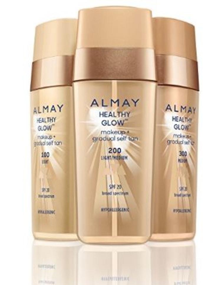 Almay Healthy Glow Makeup + Gradual Self Tan