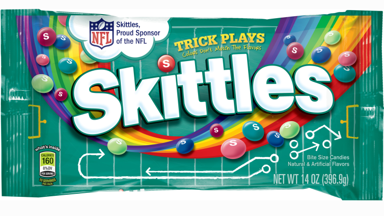 Skittles new flavor trick plays