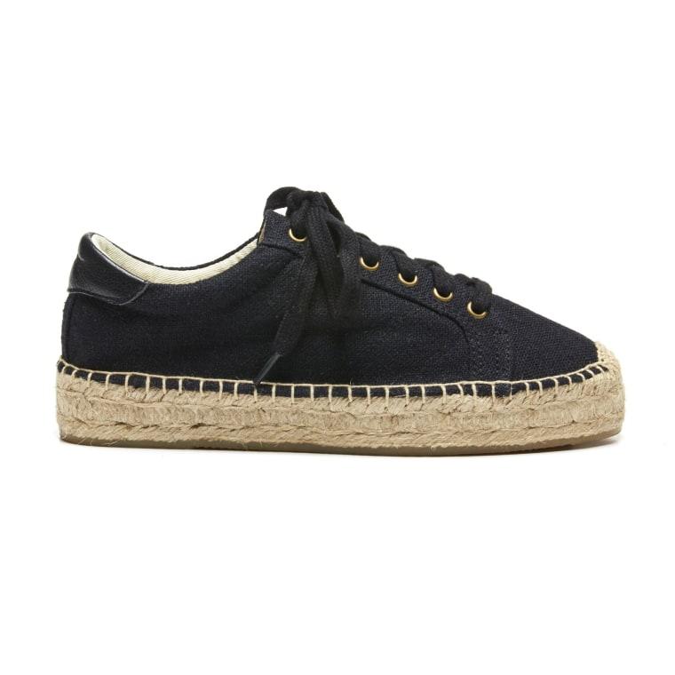 Soludos Black Sneaker
