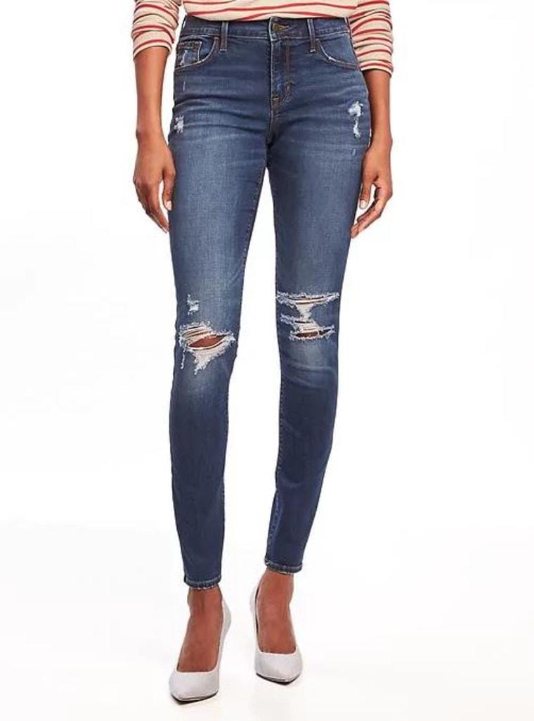 Distressed Rockstar Jeans