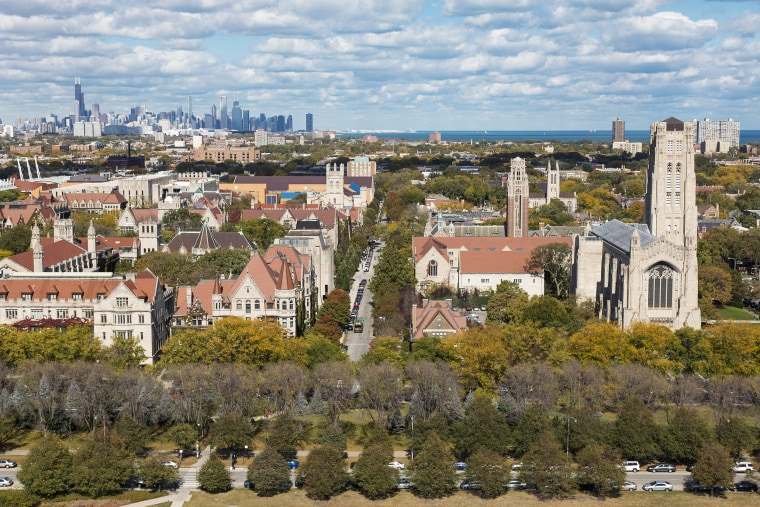 Image: University of Chicago aerial view