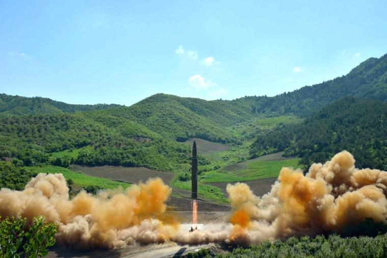 Image: North Korea Launches Intercontinental Ballistic Missile