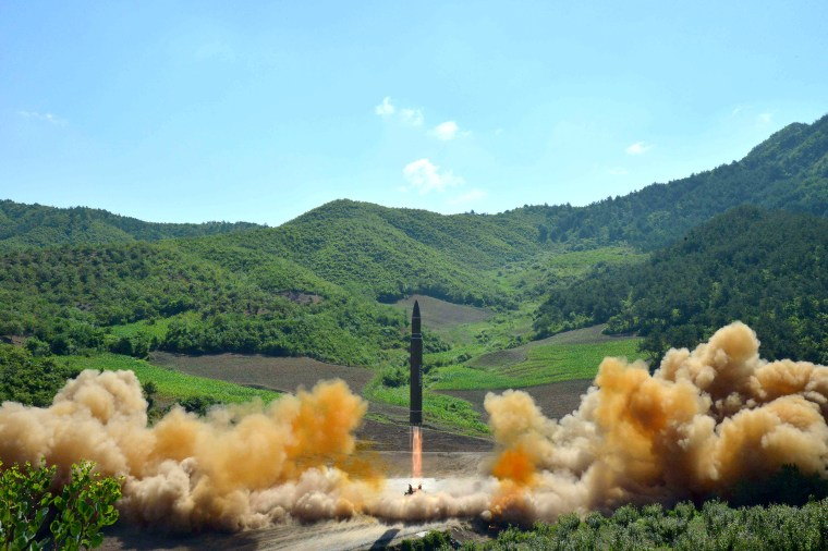 Image: North Korea Launches Intercontinental Ballistic Missile
