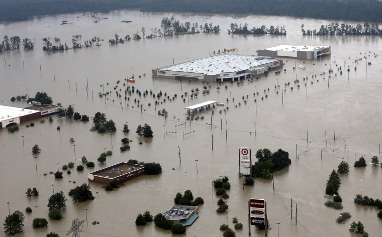 Image: Flooded businesses