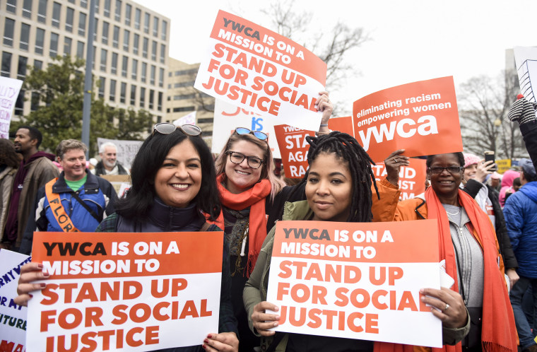 Image: YWCA-Women's March January 2017 1
