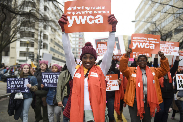 Image: YWCA-Women's March January 2017 3