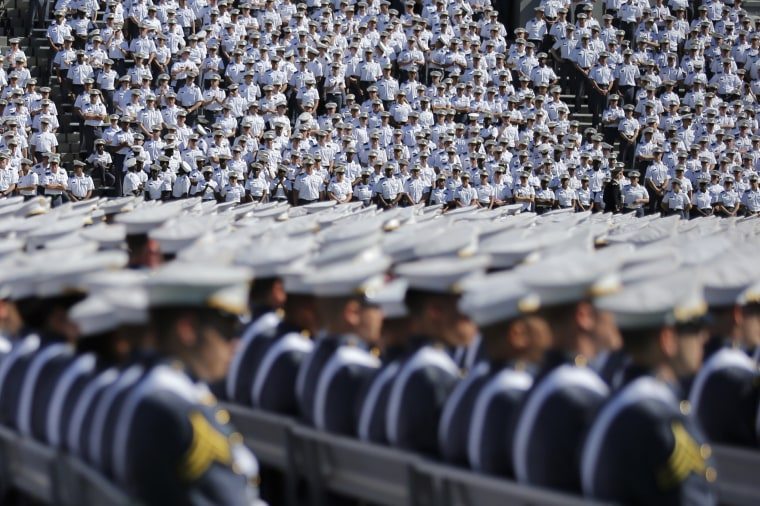 Commencement Ceremony Held At U.S. Military Academy At West Point
