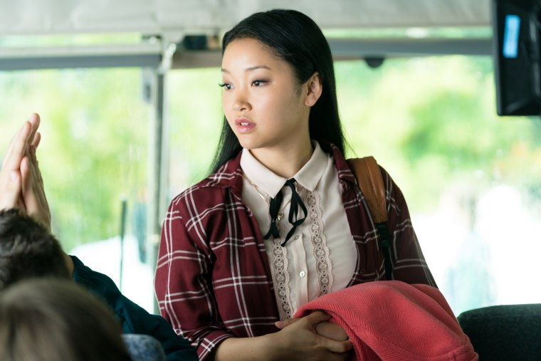 "In this still from ""To All the Boys I've Loved Before,"" actress Lana Condor portrays Lara Jean Song Covey."