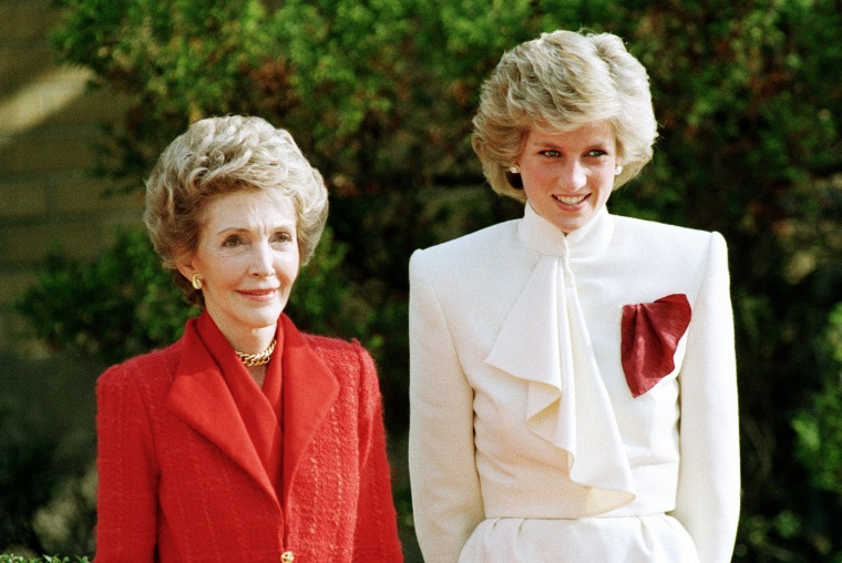 Image: Princess Diana, Nancy Reagan